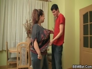 Sexy plumper gets pounded on th ... free