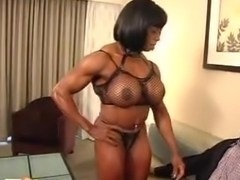 Muscle Ebony Mature