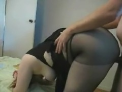 Turkish Housewife Fantasy... Big ass and stockings