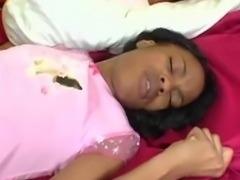 Before U Go To Bed  black ebony cumshots ebony swallow interracial african...