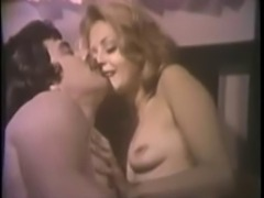 Vintage she rides and he cum on her ass
