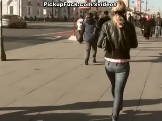 Hot brunette fucking in public  ... free
