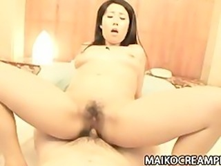 Japanese MILF Akira Kanda Teased and Riding Dick