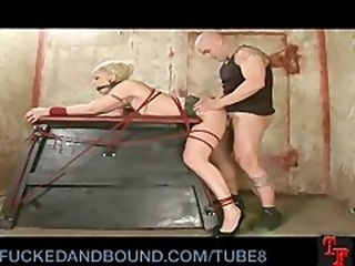 Tough Slut Still Gets Broken In