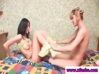 Erring charity stuff with an incredible clown's pocket does her friend's bush