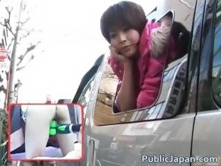 Horny Nana Natsume Fucked In A Van part6
