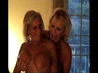 Old ladies doing black stud