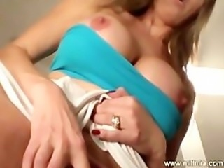 Upskirt Toy Masturbation