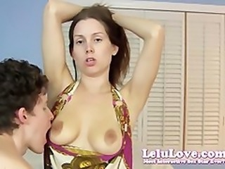 Lelu LoveArmpit Exposure Boob Sucking