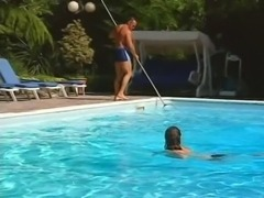 Laura Lion - group fuck by the pool