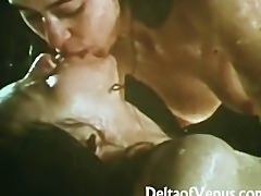 AllNatural  Wet Vintage Lesbians 1970s  Very Sensual