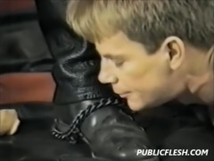 Vintage Gay Leather Domination