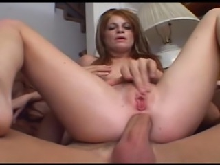 Scarlet is a busty redhead MILF that craves for dick - check her out