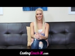 CastingCouchX Sexy 20 Year Old College Student Casting For Porno To Pay Rent