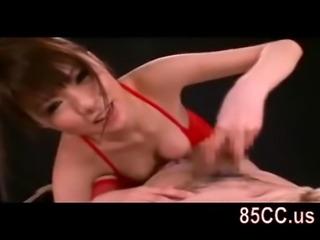 horny bondaged sex by bikini girl 02