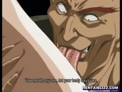 Cute hentai coed drilled by tentacles and anal sex