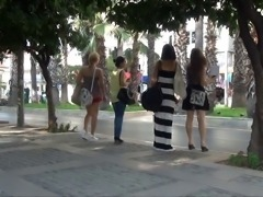Hot Turkish Girls in Skirts