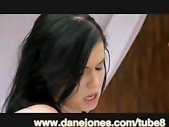 DaneJones Oil massage for hot brunette