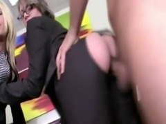 Two horny milfs get filled with ... free