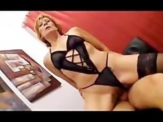 Sexy Redhead German Aunt german ggg spritzen goo girls