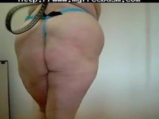 Spanking My Bbw Slave bdsm bondage slave femdom domination