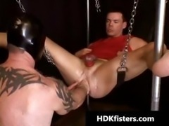 Extreme hardcore gay fisting part4
