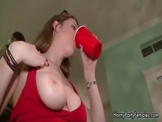 Blonde and brunette hotties getting part4