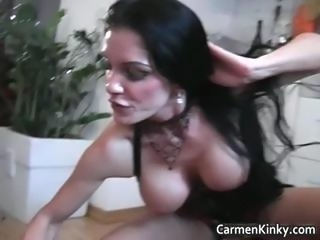 Big tits Carmen in great dirty s and m part3