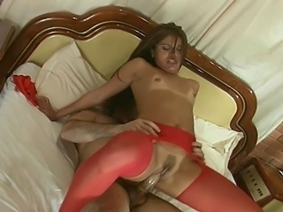 She spreads her butt chicks just to tease them and to show how horny she...