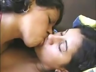 Indian lesbian really good at kissing