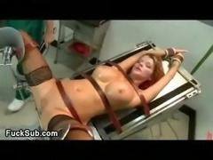 Big titty patient double fucked bdsm