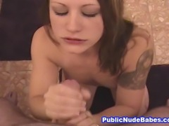 Watch this awesome naughty porn video featuring a very horny blonde chick as...