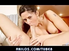 Petite wife loves sucking cock