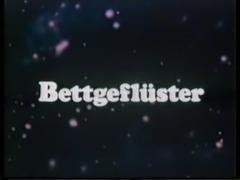 vintage 70s german - Bettgefluester - cc79