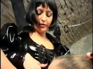 Mistress uses two Slaves
