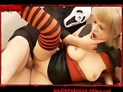 Halloween  Fucking a vampire