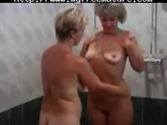 Two Sexy  Granny Lady With A Young Boy mature mature porn granny old cumshots cumshot