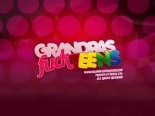 Grandpa fucks teen