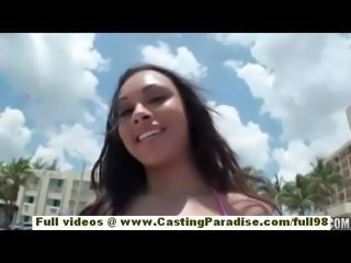 Bethany Benz independent teen babe with natural tits and big ass is masturbating