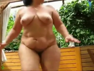 Cornelia Chubby mature workout