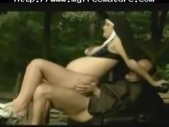 Pregnant Nun Gets Fun Anal mature mature porn granny old cumshots cumshot