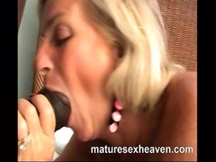 Wild mature interracial hardcore sex