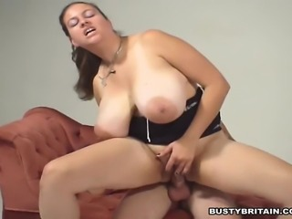 Pornstar Denise Davies gets her giant boobs and juicy pussy licked then gets...