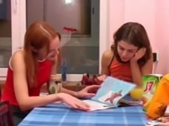 shocking brunette pissing on toilet