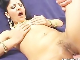 Big cock loving Indian slut loves