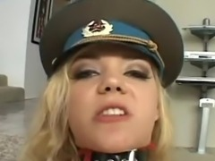 Annette Schwarz suck the Meat balls of horny chap