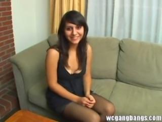 Alana gangbanged again free
