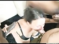 My Insatiable Wife Sucking Many Cocks