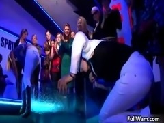 Group of horny euro girls going crazy part3