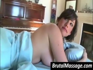 Sexy chick gets perfect body ma ... free